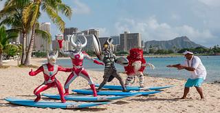 下次可以來台灣嗎!?「超人力霸王」為夏威夷觀光局代言!
