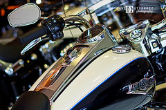 Harley Davidson Roadking (ArtOnWheels) Tags: uk usa color detail art photography drive design power bokeh wheels leeds engineering harley american showroom harleydavidson motorcycle americana motor roadking davidgutierrez harleydealer pentaxk5