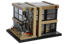 Impact (Andreas) Tags: architecture war lego damage modernarchitecture legohouse legoarchitecture legomodernhouse legomodernarchitecture damagedlegohouse