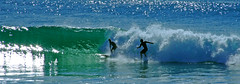 Surfs up (Spectacle Photography) Tags: sea panorama seascape gold surf waves australia surfing panoramic queensland leisure goldcoast colourimage