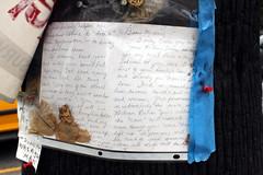 July 2013 080 (Lord Jim) Tags: loss car michael memorial crash rip tragedy conspiracy hastings roadside remembrance mori memento july2013