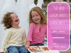 She who laughs (Mirja_VM) Tags: children child quote quotes laugh learning laughter teaching learn