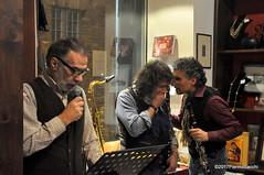 N2122892 (pierino sacchi) Tags: kammerspiel brunocerutti feliceclemente igorpoletti improvvisata jazz letture libreriacardano musica sassofono sax stranoduo