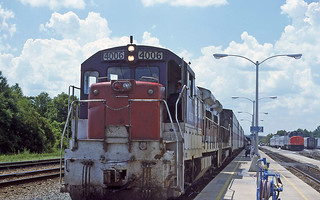 Floridian and Auto-Train at Jacksonville