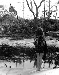 Layered Reflections (skye-skye) Tags: beach water reflection youth child rugged marsh sand ocean shore feet toes layer layers layered photography model portrait film 35mm kodak canon blackandwhite kid art artist young youthul youngster kids children teen teenager teens teenagers skye skyes skyesphoto skyesphotos sky skyephoto skyephotos 104 tenfour ok affirmative yes create creation creative beauty beautiful