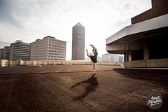 Dance in Lyon by Yanis Ourabah / Part-Dieu rooftop LPA (Yanis Ourabah) Tags: yanis ourabah dance dancer dancing roof rooftop parking lpa lyonparcauto danceinlyon lyon lyonnais lyonnaise danse danseuse ballet ballerina modern classic pointes air jump free freedom nikon d750 nikkor partdieu crayon incity sky skyline skyscraper building tiffany sun outdoor action french france dress body silhouette toit street city awesome ballerinaproject yanisourabah photographelyon jumping woman female girl