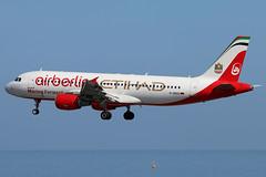D-ABDU (GH@BHD) Tags: dabdu airbus a320 a320200 ab ber airberlin etihadairways logojet specialcolours ace gcrr arrecifeairport arrecife lanzarote aircraft airliner aviation