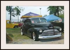 Car show art (novice09) Tags: backtothefifties carshow chevrolet 1947 dreamscope ipiccy