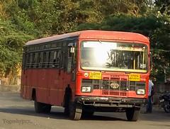 Nagpur - Buldana (yogeshyp) Tags: msrtc maharashtrastatetransport msrtcparivartanbus nagpurbuldhanastbus
