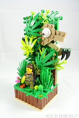 DSC_1991 (drillerbryan) Tags: lego collectableminifigures moc hklug dino