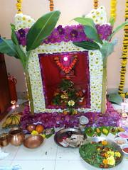 IMG_20170211_192615 (bhagwathi hariharan) Tags: rangoli kolam nallasopara nalasopara rose pooja christmas 2016 festivals mumbai goregaon prithvilandproject 2017 celebrations lordshani lordayyappa
