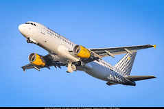 """ORY.2012 # VY - A320 EC-LOP """"All you need is Vueling"""" awp (CHR / AeroWorldpictures Team) Tags: vueling airbus a320214 cn 4937 engines cfmi cfm565b43 reg eclop named allyouneedisvueling history aircraft 22nov2011 first flight test daxag construction site hamburg xfw germany 29nov2011 delivered vy vlg leased boc config cabin y180 planes aircrafts planespotting takeoff a320 a320200 paris orly ory lfpo france airport nikon d300s zoomlenses nikkor 70300vr lightroom lr5 awp raw"""