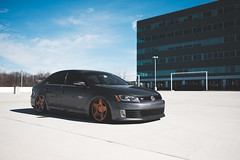 GLI (Mike Burns Photography) Tags: vw volkswagen jetta gli mk6 bagriders airlift bagged slammedenuff 3sdm fujifilm xpro2