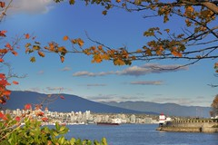 Stanley Vancouver (yuanxizhou) Tags: awesome wonderful amazing view city northshore lighthouse autumn leaves colors britishcolumbia vancouver park stanley