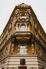Prague Facade (craigmdennis) Tags: prague building facade face buildingfront portrait czech gothic architecture