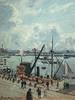 PISSARRO Camille,1903 - L'Anse des Pilotes, Le Havre, Matin, Soleil, Marée montante (Le Havre) - Détail 11
