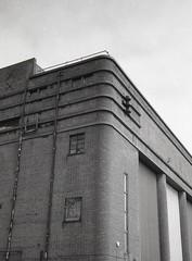 Dudley Hippodrome (OhDark30) Tags: olympus 35rc 35 rc 35mm film monochrome bw blackandwhite bwfp fomapan 200 rodinal dudley hippodrome theatre variety modernist 30s architecture building