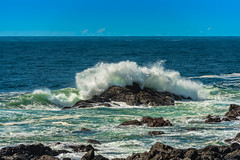 Rough Seas (RussellK2013) Tags: nikon nikkor d750 sea seascape ocean water scene scenery scenicsnotjustlandscapes scape scenic ucluelet britishcolumbia canada vancouverisland wildpacifictrail lighthouseloop sightseeing travel ngc postcard 70200mmf28vrii 70200mm 70200mmf28gedvrii