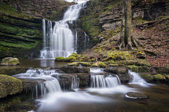 Scaleber Steps (Justin Cameron) Tags: yorkshiredales neutraldensity canonef1635mmf4lisusm waterfall leegraduatedfilter le scaleberforce canon5dmkiii ribblesdale lee longexposure leelittlestopper