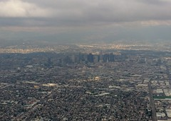 Los Angeles Downtown from Plane (Stabbur's Master) Tags: california losangeles downtown downtownlosangeles downtownlosangelesfromplane losangelesfromplane la lafromplane downtownlafromplane viewfromplane skyscraper skyline laskyline losangelesskyline