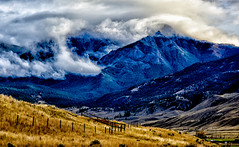 A STORM IN THE MAKING ... (Aspenbreeze) Tags: sotrm clouds mountains landscape colorado fog sky nature outdoors rural countryside mountainside bevzuerlein aspenbreeze moonandbackphotography