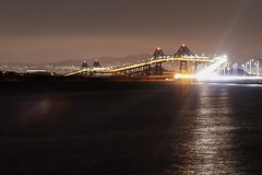 Richmond Bridge. (mikeysmialek) Tags: pollution light 50mm t6i canon ocean bridge richmond bayarea sanfrancisco landscape