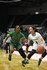 WBasketball-vs-North Texas, 1/26, Chris Crews, DSC_4866 (PsychoticWolf) Tags: 49ers basketball charlotte cusa d1 green mean ncaa ninermedia north nt texas unc uncc unt womens