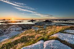 Santec Ile de Batz (http://arnaudballay.wix.com/photographie) Tags: 2016 bretagne brittany beach finistère juillet landscape littoral mer plage santec sea seascape sunset vacances france fr