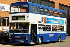 2979 E979 VUK (WMT2944) Tags: 2979 e979 vuk mcw metrobus mk2a wmpte west midlands travel