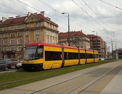 """Pesa 120Na """"Swing"""", #3206, Tramwaje Warszawskie (transport131) Tags: tram tramwaj tw warszawa ztm warsaw pesa 120na swing"""