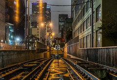 LA Sub I (PhotonLab) Tags: metro losangeles dtla westcoast sony socal sonya7ii zeiss zeisslens carlzeiss tunnel underground train tracks transportation night nightscene nightshooter lowlight hdr nocturnal lights rain railroad