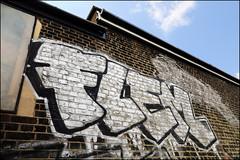 Flem (Alex Ellison) Tags: flem pbs northwestlondon trackside urban graffiti graff boobs