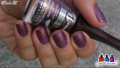 I Like to Mauve it - Bourjois (Raabh Aquino) Tags: unhas liquidsand nails texturizado hands roxo glitter