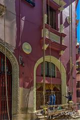 Building Restoration in  Old Havana (SWD-Photography) Tags: cuba havana restoration painters urbanexploration