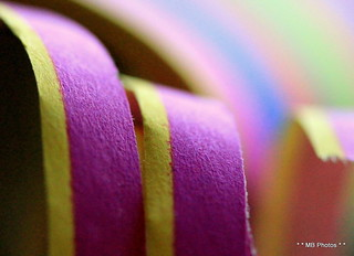 Macro Mondays/Paper serpentine for the 10th Anniversary