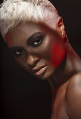 Shan (nigelliott.com) Tags: beauty nigelelliott nigelliott photography studio red shadow hard light hardlight