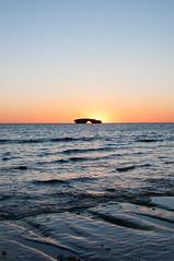 Coucher de soleil à Andavadoaka (Masta Panda) Tags: sunset sky beach sand water madagascar arch arche rock caillou