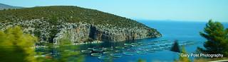 FISH FARMING,  NEAR ATHENS GREECE