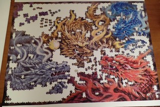 Dragons of Five Colors, Epoch, 3000 pieces
