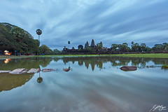 "World's wonder ""Angkor Wat"" (Sotitia Om Photography) Tags: worldswonder angkorwat siemreap cambodia siemreapprovince southeastasia cambodian khmer kampuchea kingdomofcambodia kingdomofwonder angkorwattemple angkorthom reflection longexposure cambodianphotographers sotitiaomphotography teamcanon canonusa canonasia wideanglelens slowshutter leefilters morning asia natgeotravel"