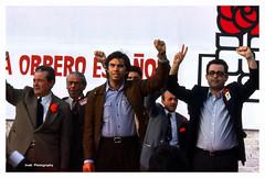 PSOE, Pasado....Ilusiones perdidas (Mayo 1977) (Imati) Tags: mitín psoe política políticos internacional madrid 1977 gonzález puerta