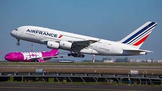 F-HPJE - Air France Airbus A380 - Paris Charles De Gaulle