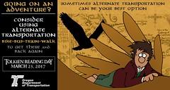The Hobbit: The Eagles (OregonDOT) Tags: tolkienreadingday tolkien socialmedia alternatetransportation modes oregondot oregon