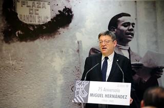 La Generalitat ha cedido la titularidad de la casa natal del poeta Miguel Hernández al Ayuntamiento de Orihuela. 28/03/2017
