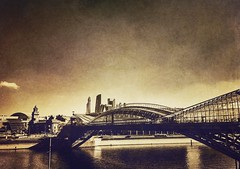 Moscow river bridge City view (places to see) Tags: iphone constraction building architecture monochrome bridge cityview city river moscow архитектура строительство река мост
