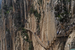 Walk of Life... and Death (Denis Moynihan) Tags: caminito del rey walk walkway cliff gorge path boardwalk sheer terror fear heights guadalhorce malaga spain industry travel nature