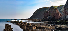 Cove 08 April 2017-0299.jpg (JamesPDeans.co.uk) Tags: stone rock landscape sandstone greatbritain northsea borders sea unitedkingdom beach scotland britain geology shore coast cliffs gb cove europe uk cliff