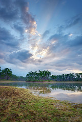 dawn of a new day. (evelyng23) Tags: landscape fusion blending pentaxk3 florida usa aficionados everglades evergladesnationalpark enp pinegladeslake pentaxdalimited15mmf4 sunrise dry nowater nature 2017 evelyng23 5exp