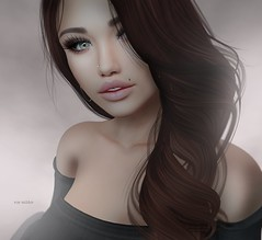 Jolie (Roy Mildor -5000 Follower, thank you ㋡) Tags: roymildor photography sl secondlife profile portrait woman girl closeup soft pastell