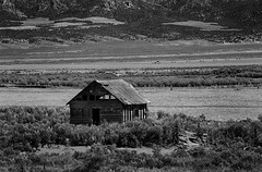 Lonely Homestead (arbyreed) Tags: arbyreed homestead monochrome bw blackandwhite old ranch oldranchhouse cattle cattlecountry cows kanecountyutah